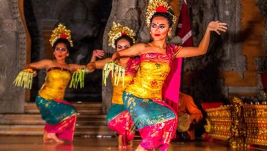 Dansvoorstelling in Ubud - AllinMam.com