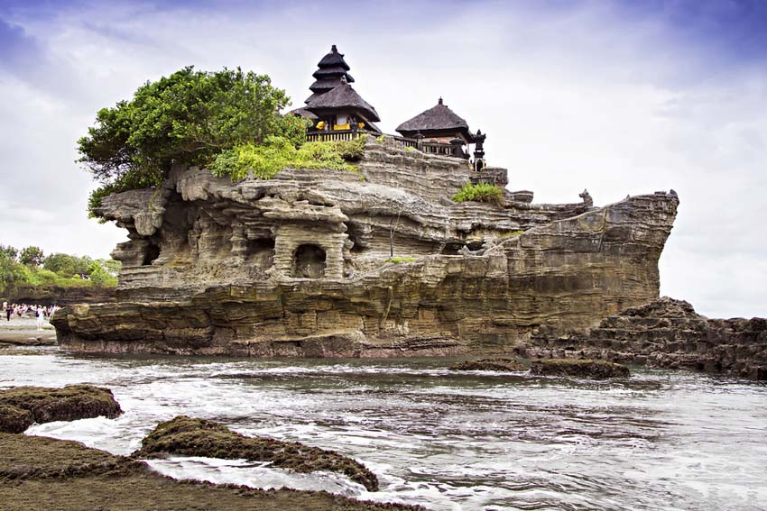 Tanah Lot op Bali - AllinMam.com