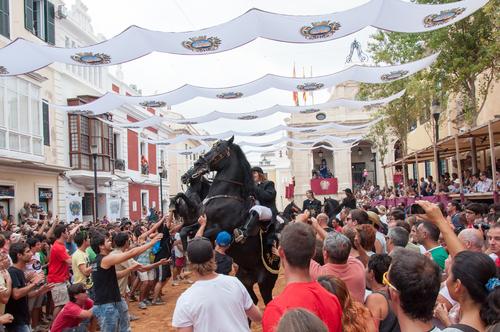 Menorca paarden van Son Martorellet - AllinMam.com