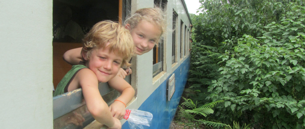 treinreis in thailand