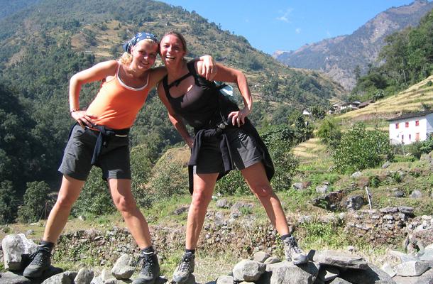 reizen naar Nepal, trekking door Himalaya
