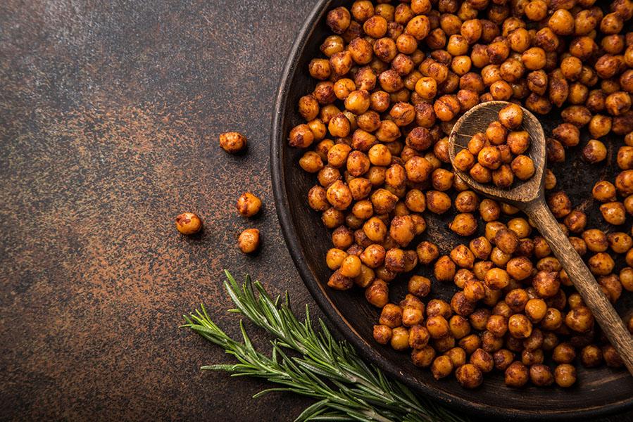 Geroosterde kikkererwten, een gezonde snack - AllinMam.com