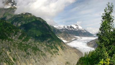 Photo of Salmon Glacier in Canada