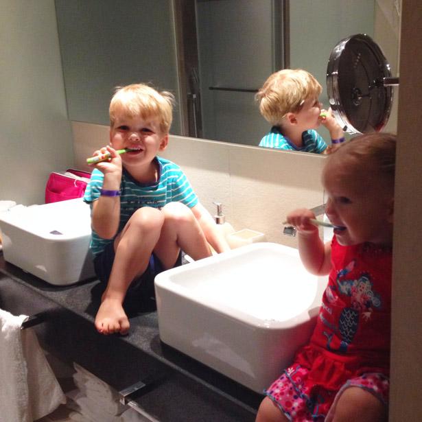 Heerlijke badkamer