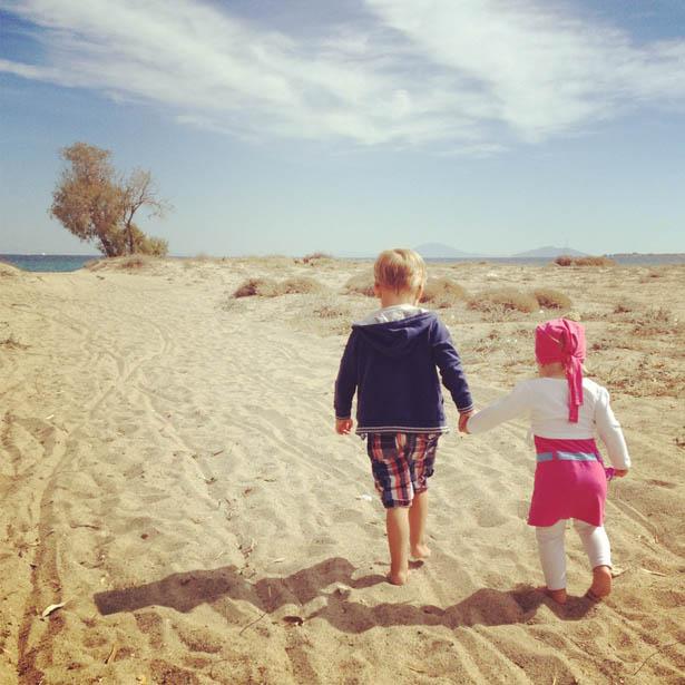 Strandje vlakbij Pelagos