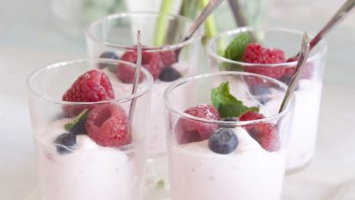 Photo of Valentijnsdag idee: Yoghurt mousse met frambozen