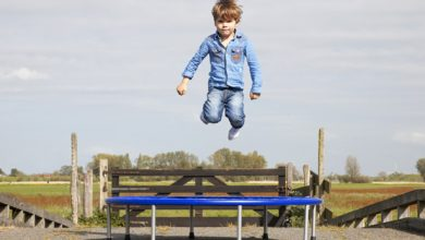 Photo of Trampoline en hypermobiliteit