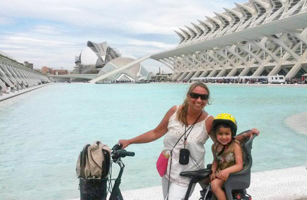 fietsen door Valencia | AllinMam.com