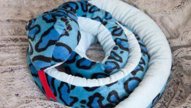 Photo of Knuffels zijn leuk maar de pluche slang is het allerleukst!