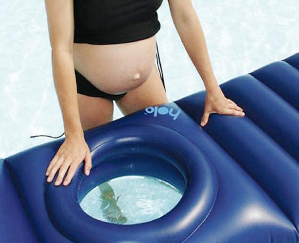Holo Lilo; zwanger en toch comfortabel op je buik liggen - AllinMam.com