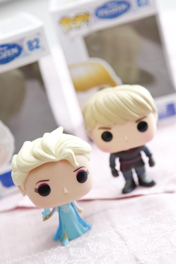 frozen vinyl figuren Elsa en Kristof | AllinMam.com