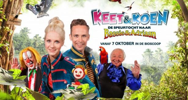 Giveaway: bioscoopkaartjes Keet & Koen en de speurtocht naar Bassie & Adriaan | AllinMam.com