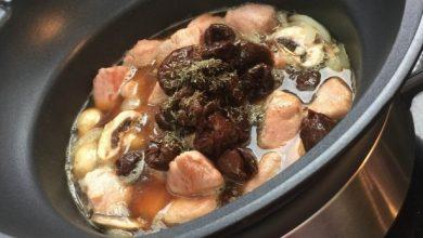 slowcooker recept varkenshaas met pruimen | AllinMam.com