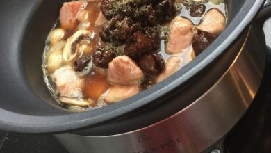 Photo of Slowcooker recept met varkenshaas en pruimen