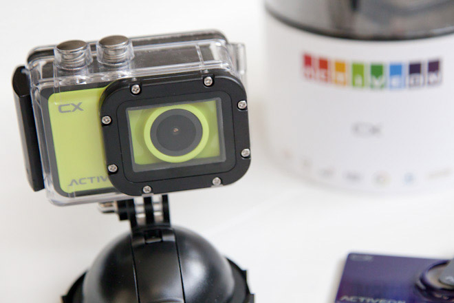 Mini action camera Activeon CX | AllinMam.com