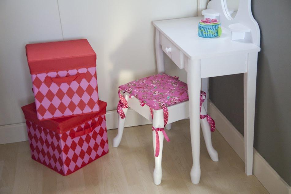 De slaapkamer opruimen | Mooie opbergdozen voor speelgoed