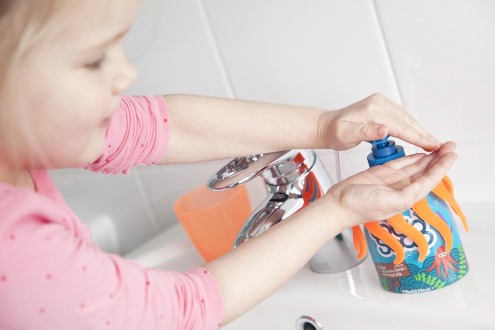 Squid Soap - Zo wordt handen wassen elke keer een feestje