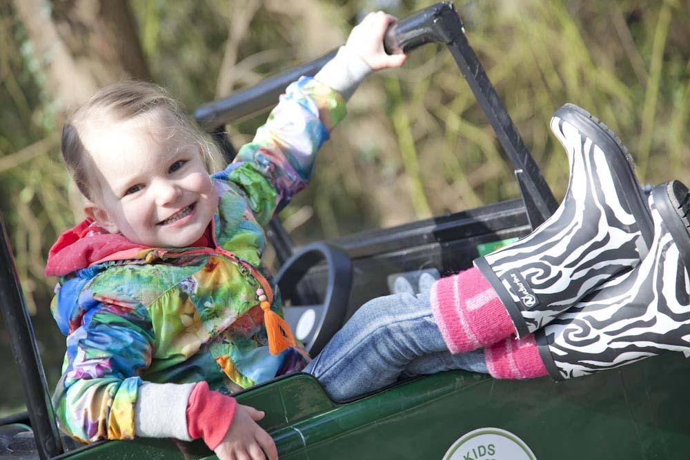 kids safari in Center Parcs Erperheide