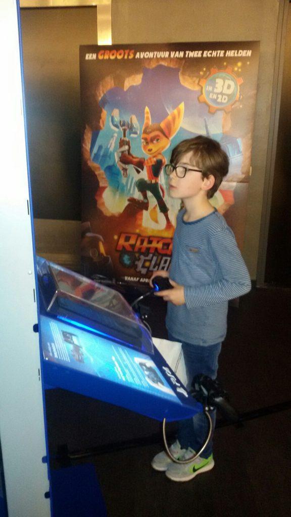 Ratchet & Clank game- en filmpremière