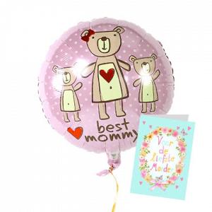 moederdag gedichten op kaart verstuurd met cadeau