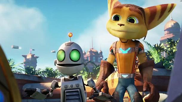 Ratchet and Clank game- en filmpremière