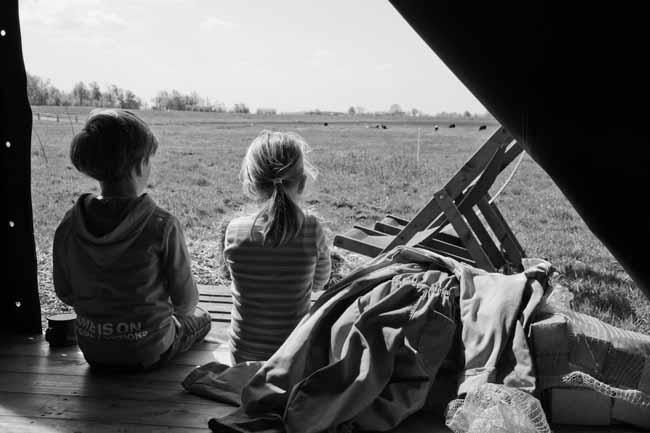 Logeren bij betere boerenbed leuk voor kinderen?