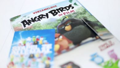 Angry birds sparen bij PLUS supermarkt