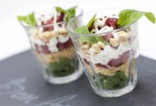 Photo of Recept voor Carpaccio in een glaasje; net even anders