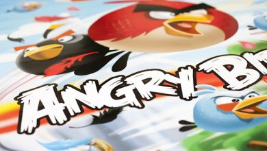 Photo of We houden de vogeltjes gekte in stand met een Angry Birds poster