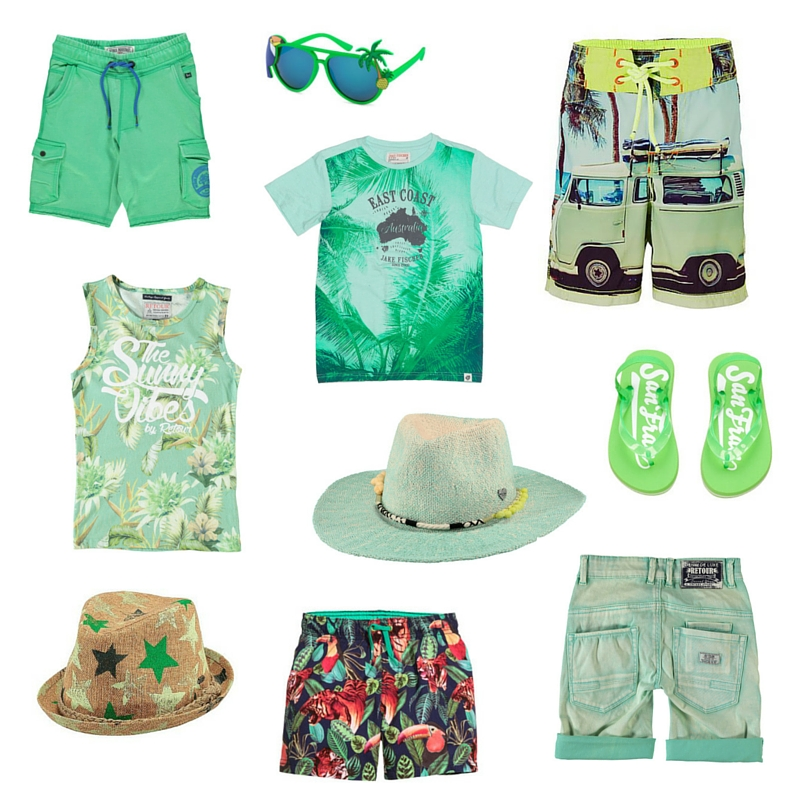 groene outfit - kinderkleding - AllinMam.com