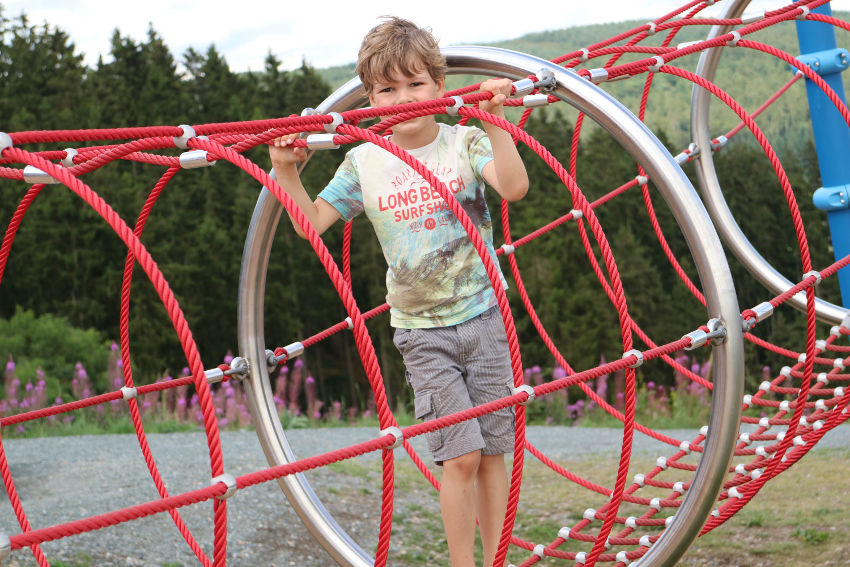 Spielberg / Kletterberg Aventura Medebach AllinMam.com