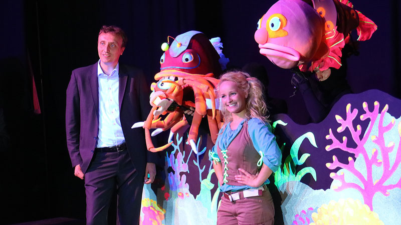 Deep Ocean Monsters musical - Burgers Zoo - AllinMam.com