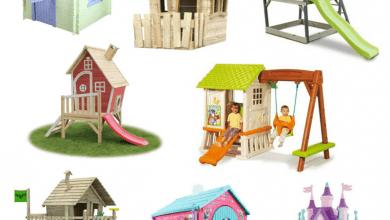 Photo of De leukste speelhuisjes voor in de tuin