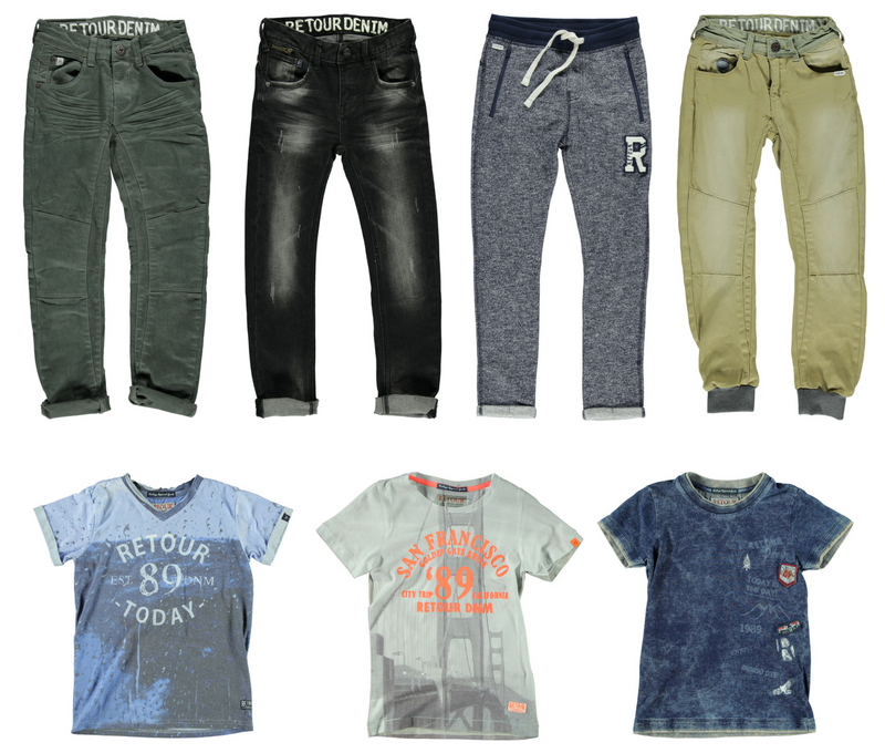 Into the wild met Retour voor boys | winter 2016/2017 - AllinMam.com