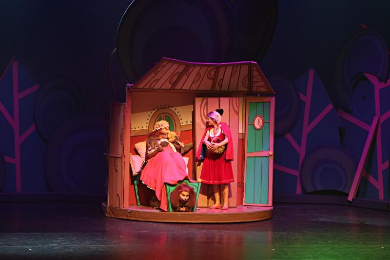 Met de kinderen naar de première van Roodkapje De Musical - AllinMam.com
