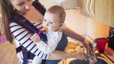 Photo of 8 voordelen van je kindje dragen in een draagzak of -doek