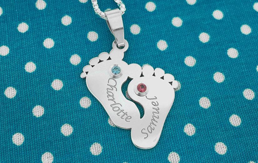 Win een zilveren geboortesteen hanger - AllinMam.com