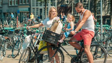 Nederland fietsland; feitjes over fietsen - AllinMam.com