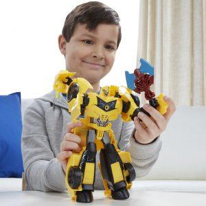 Win Transformers Robots in disguise Super BumbleBee - AllinMam.com