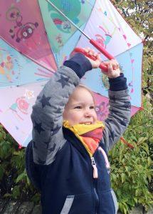 Llilliputiens paraplu - AllinMam.com