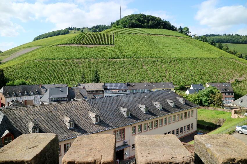 Burcht overblijfselen in Saarburg - AllinMam.com