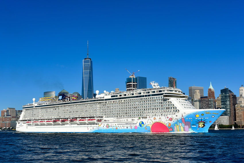 Op cruise met een baby Norwegian Breakaway New York - AllinMam.com