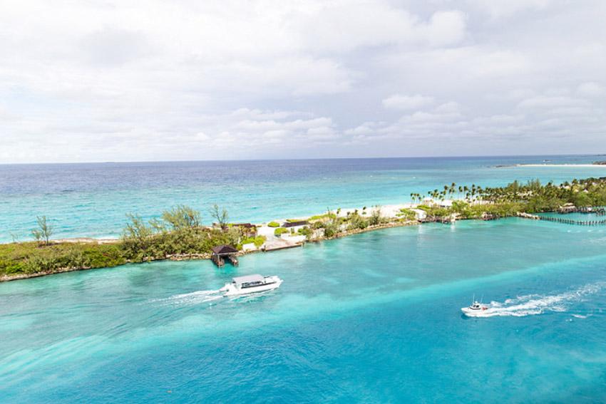 Blue Lagoon Bahama's, cruise met een baby - AllinMam.com