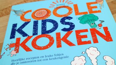 Kinderkookboek Coole kids koken - AllinMam.com