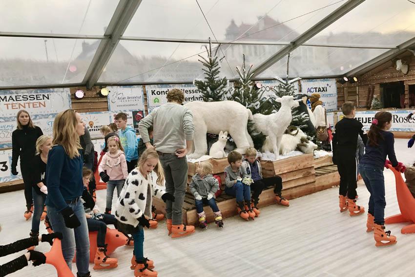 Noordwijk Winter Wonderland; schaatsen en eten aan zee - AllinMam.com