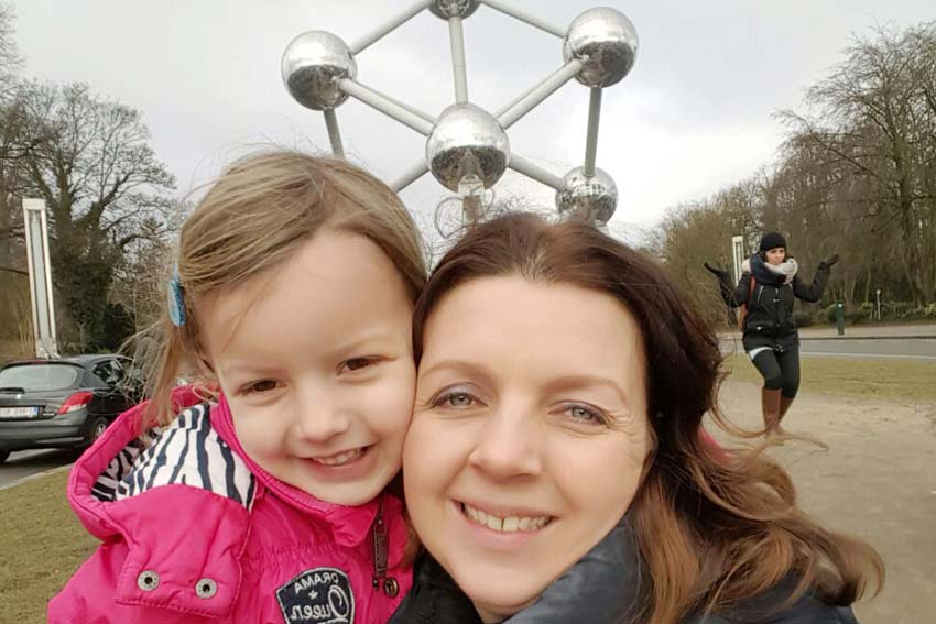Brussel stedentrip met kind Atomium - AllinMam.com