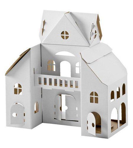 Calafant kartonnen speelhuis, bouwpakket