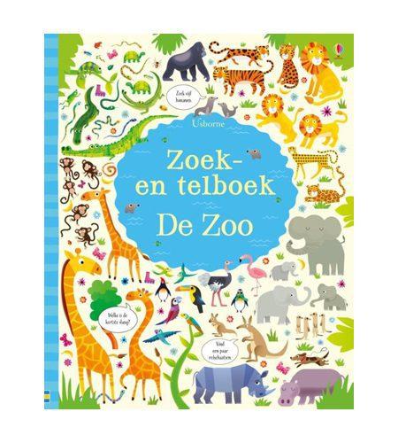 Zoek en telboek de dierentuin - AllinMam.com