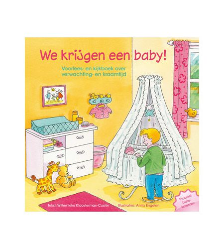 We krijgen een baby! - Willemieke Kloosterman - Coster - AllinMam.com