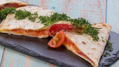 Photo of Piadina met vulling van rucola, serranoham en mozzarella